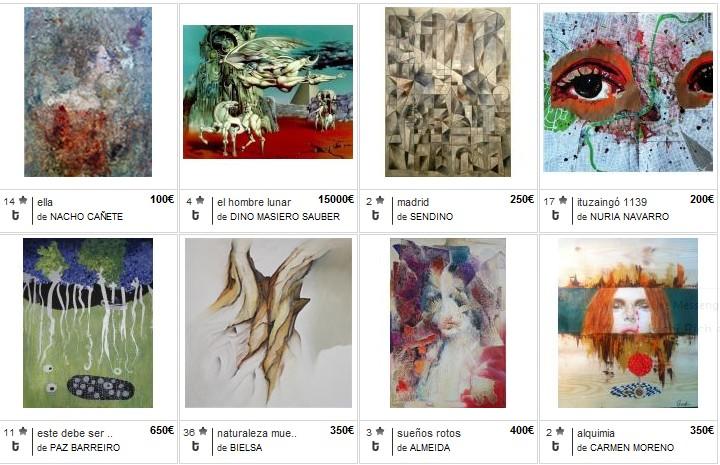 galerías de arte online