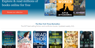 Los mejores buscadores de libros y ebooks
