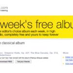 Los mejores portales y páginas donde descargar música clásica gratis.