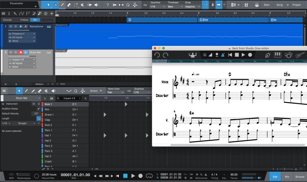 Programas gratis para editar partituras - Notion 6