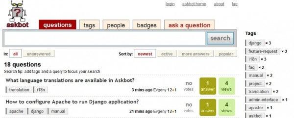 Utilidades gratis para crear un sitio de preguntas y respuestas