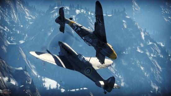 War Thunder  - juego multijugador online - simulador de vuelo