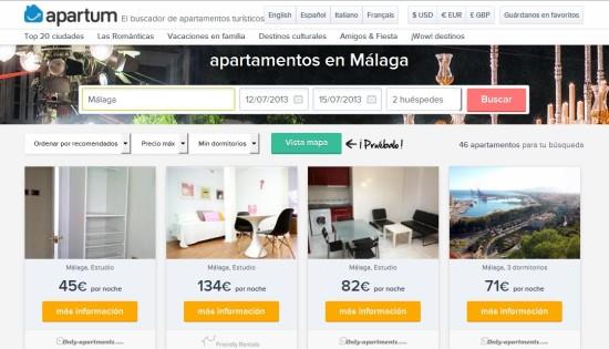 apartum-alquiler apartamentos casas para vacaciones