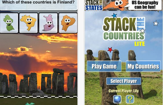 Juegos y mapas para aprender geografía del mundo