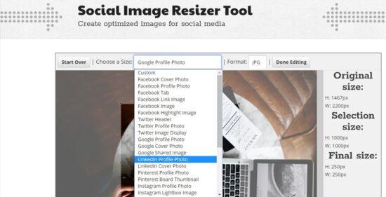 cambiar el tamaño de las imagenes online gratis