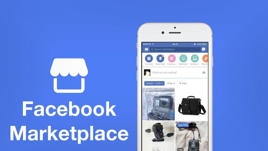 como ganar dinero con facebook - Facebook Marketplace