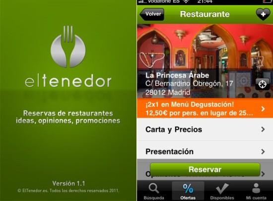 eltenedor.es - descuentos en restaurantes