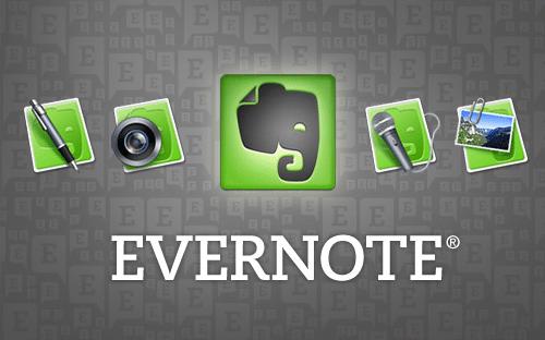 evernote - bloc de notas para recordar fechas citas y cumpleaños