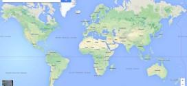 google maps, mapas y callejeros