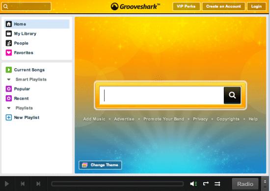 grooveshark escuchar musica en streaming gratis