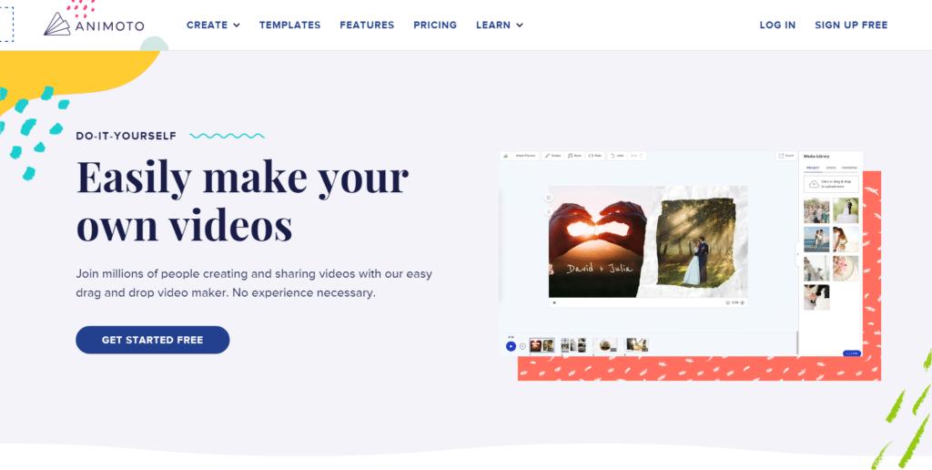 animoto editor de video