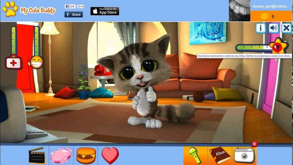 mejores mascotas virtuales para pc - My Cute Buddy