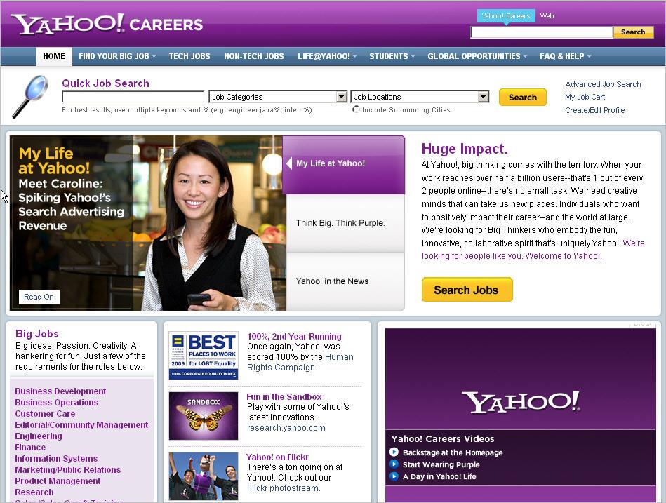 mejores portales de internet yahoo