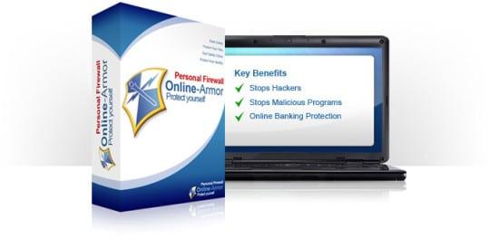 online armor cortafuegos firewall gratis