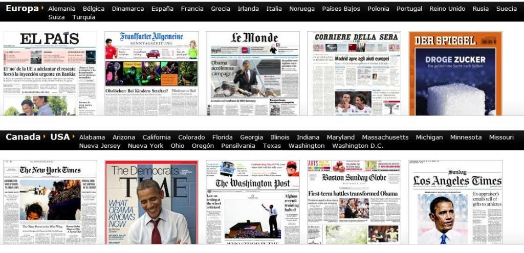 Los mejores diarios online