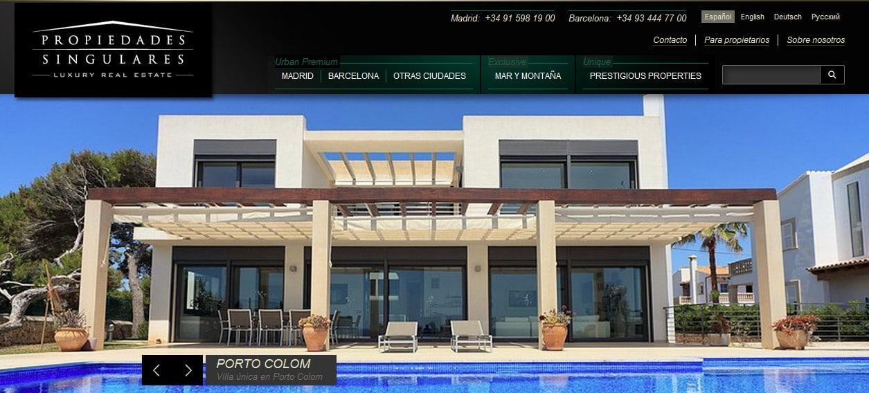 Inmobiliarias venta de chalets y pisos de lujo for Busco piso alquiler barcelona
