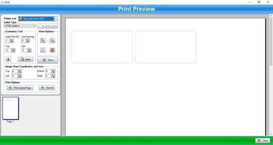 programa para imprimir etiquetas gratis - label printer