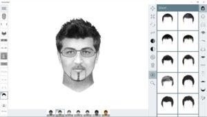 retrato robot online - portraitpad