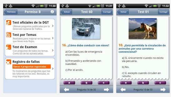 tests-carnet de conducir DGT - todotest