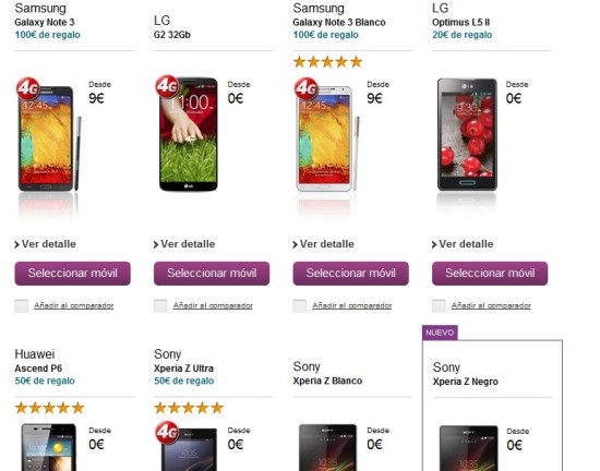 vodafone - oulet moviles baratos