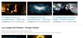 youtube trailers de cine