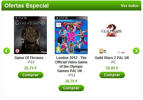 Juegos baratos - Outlet juegos online