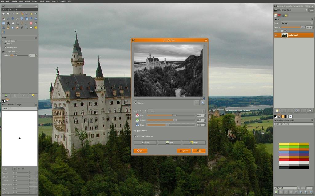 Gimp - mejor programa gratis del año para retocar y editar fotos