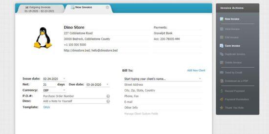 Invoicebus modelos de facturas