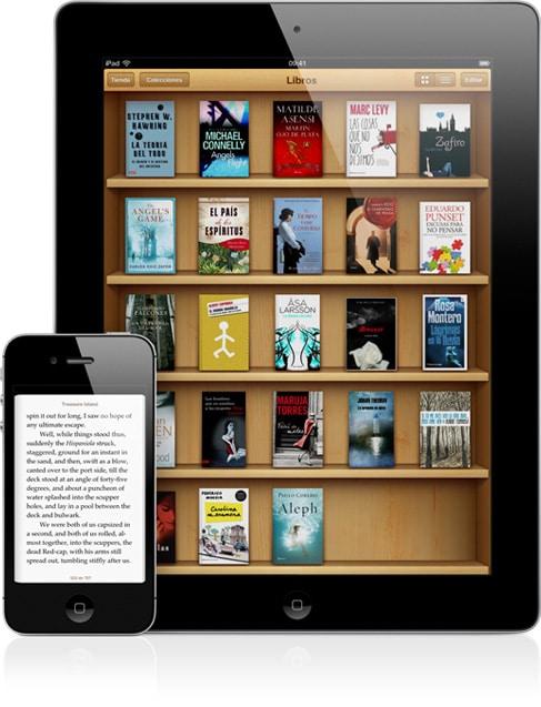 ibooks - Las mejores aplicaciones para leer ebook en tu móvil
