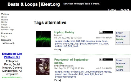 ibeat-samples-loops-beats-gratis
