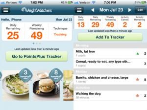 Weight Watchers Mobile - hacer dieta y bajar peso desde tu iphone