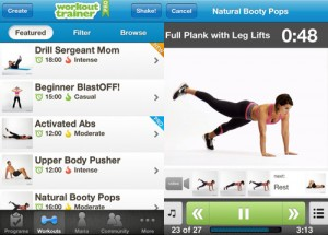 Workout Trainer pierde peso con tu iphone