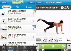 Workout Trainer pierde peso con tu iphone