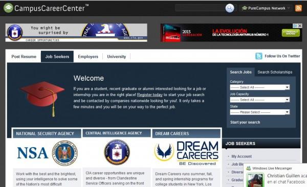 CampusCareerCenter.com Ofertas de empleo para estudiantes y recién graduados sin experiecia