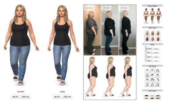 cambio de look virtual model my diet