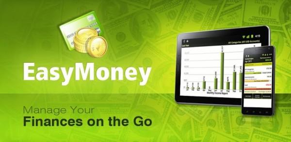 EasyMoney -  aplicación de contabilidad, finanzas personales y control de gastos