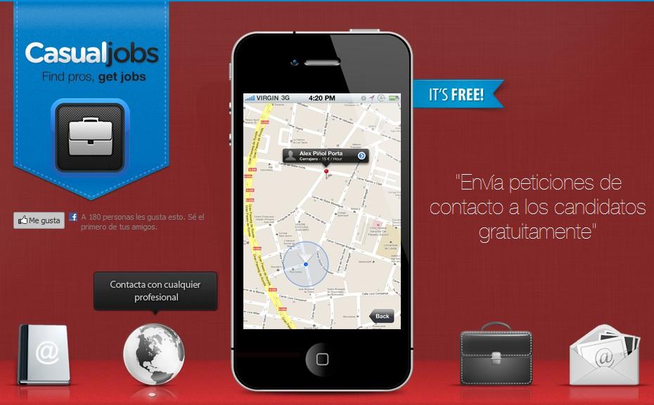 casualjobs-Aplicaciones para buscar trabajo