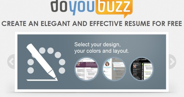 doyoubuzz-crear-curriculum vitae  profesional gratis