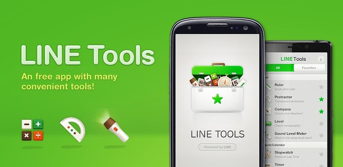 line tools apps line