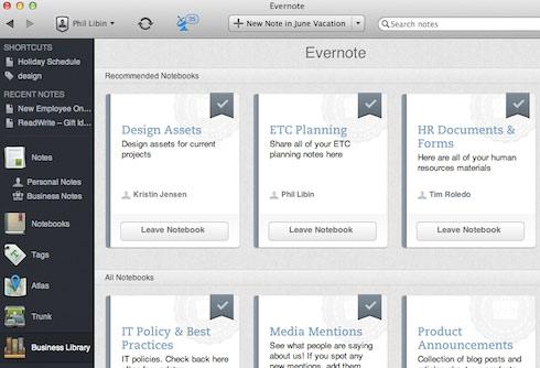 evernote mejores aplicaciones para mejorar la productividad negocio empresa