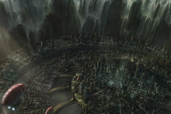 sci-fi-metropolis fondo de pantalla  ciencia ficcion