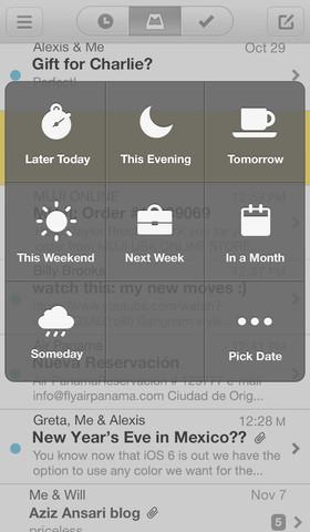 Mailbox - mejores aplicaciones para leer y enviar emails desde el movil