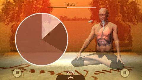 Universal Breathing - Pranayama mejores aplicaciones de yoga iphone