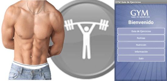 gym guia de ejercicios  - rutinas de gimnasio
