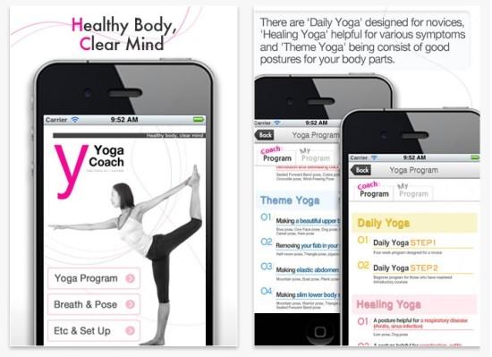 mejores apps de yoga - yoga coach