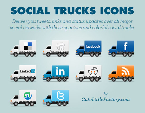social-trucks-iconos