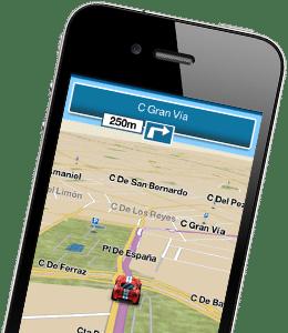m8 telmap navegador gps para movil