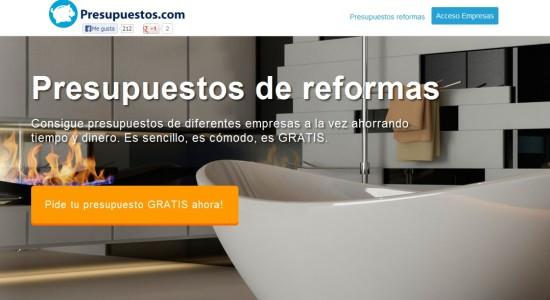 presupuestos.com reformas casa baratas
