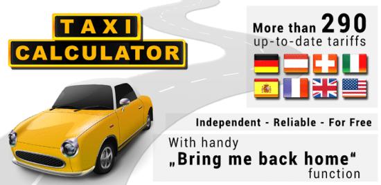taxi - calculator precio de los taxis