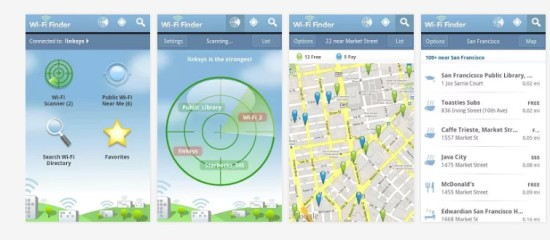 wifi finder internet gratis en el movil